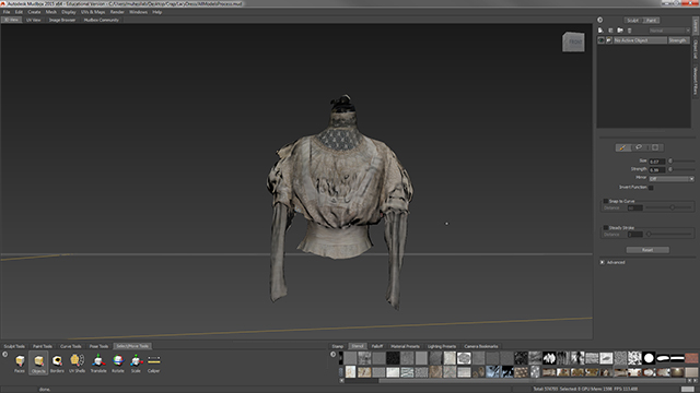 Once you've finished painting and creating Normal Map on model, it can be exported and used in various Game Engines.