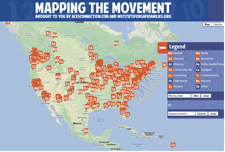 Mapping the Movement