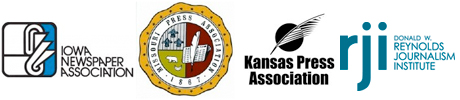 Iowa Newspaper Association | Missouri Press Association | Kansas Press Association | RJI Donald W. Reynolds Journalism Institute