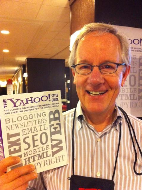 Chris Barr, of Yahoo Inc.