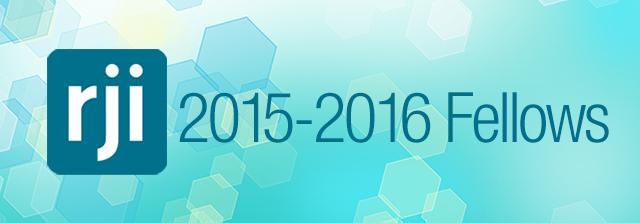 RJI 2015–2016 Fellows