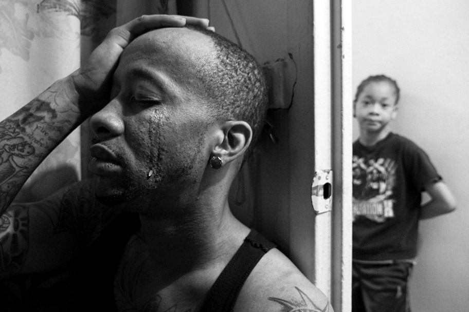 I love this ongoing project from Zun Lee about Black fatherhood. He documents relationships that we don't normally see in our media ecosystem. Tender family moments that bring a more complete concept of Black men in America. Struggle but also joy. Photo by Zun Lee.