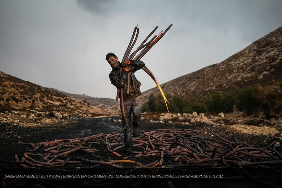 Exposé from photographer Tamir Kalifa about the impacts of e-waste on the communities where it comes to rest. I love projects that lead to policy change and shine a light on the impacts of income inequality and unforeseen downstream consequences. Photo by Tamir Kalifa.