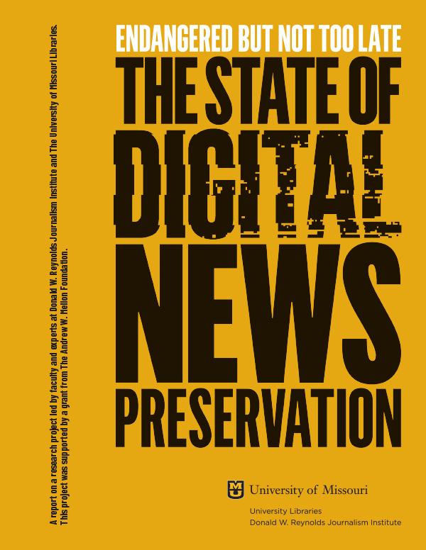 The State of Digital News Preservation