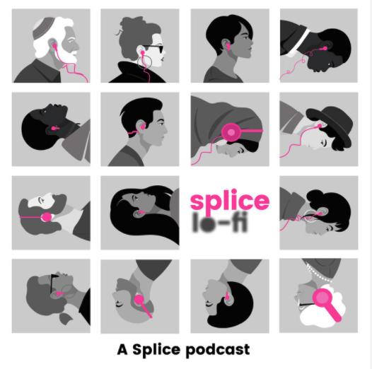 Image promoting Splice Lo-Fi via the Splice website.